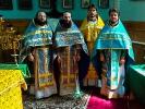 5 сентября игумен Афанасий (Гриценко) в сослужении однокурсников совершил Божественную литургию в храме станицы Екатериноградской_1