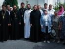 5 сентября игумен Афанасий (Гриценко) в сослужении однокурсников совершил Божественную литургию в храме станицы Екатериноградской_3