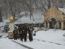 В мужском монастыре совершили крестный ход