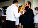 Настоятель монастыря принял участие в открытии нового медицинского центра_1