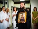 Настоятель монастыря принял участие в открытии нового медицинского центра_2