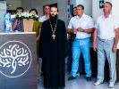 Настоятель монастыря принял участие в открытии нового медицинского центра_5