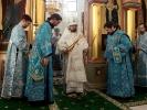 В Праздник Сретения игумен Афанасий (Гриценко) сослужил Святейшему Патриарху