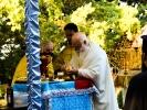 Архимандрит Алексий (Мадзирис) совершил Божественную литургию в мужском монастыре _3