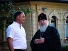 Митрополит Ставропольский и Невинномысский Кирилл посетил мужской монастырь с архипастырским визитом_10