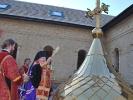 Освящение купола на здании братского корпуса