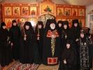 В Иоанно-Мариинском женском монастыре состоялся монашеский постриг двух инокинь_21