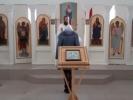Божественная литургия в Спасо-Преображенском скитy_2