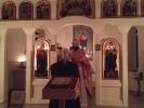Пасхальная Божественная литургия в Спасо-Преображенском скиту мужского монастыря_2