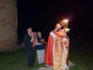 Пасхальная Божественная литургия в Спасо-Преображенском скиту мужского монастыря_4