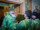 Архиерейская литургия в монастыре 15 января 2018