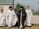 Первый престольный праздник отметили в Спасо-Преображенском скиту в станице Темнолесской_11