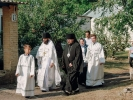 Первый престольный праздник отметили в Спасо-Преображенском скиту в станице Темнолесской_1