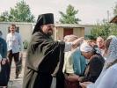 Первый престольный праздник отметили в Спасо-Преображенском скиту в станице Темнолесской_2