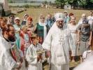 Первый престольный праздник отметили в Спасо-Преображенском скиту в станице Темнолесской_4