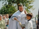 Первый престольный праздник отметили в Спасо-Преображенском скиту в станице Темнолесской_6