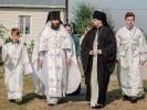Первый престольный праздник отметили в Спасо-Преображенском скиту в станице Темнолесской_8