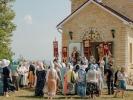 Первый престольный праздник отметили в Спасо-Преображенском скиту в станице Темнолесской_9