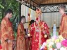 Архиерейское богослужение в мужском монастыре_2