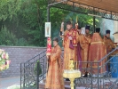 Архиерейское богослужение в мужском монастыре_9