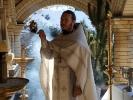 Праздник Крещения Господня встретили в мужском монастыре_4