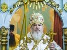 Митрополит Кирилл совершил Литургию в мужском монастыре_11