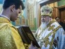 Митрополит Кирилл совершил Литургию в мужском монастыре_14