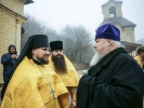 Митрополит Кирилл совершил Литургию в мужском монастыре_1