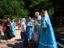Епископ Алексий возглавил Божественную Литургию в мужском монастыре