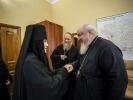 Митрополит Кирилл встретился с членами коллегии Синодального отдела по монастырям и монашеству_1